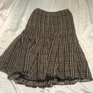 Jones New York pleated lined skirt new w/o tag!